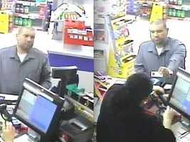 4. Garcia, who had been living in Terre Haute, Ind., is seen in surveillance video making a purchase at a convenience store in Council Bluffs, Iowa, on May 12, 2013 -- the same week the Brumbacks were found dead in their home.