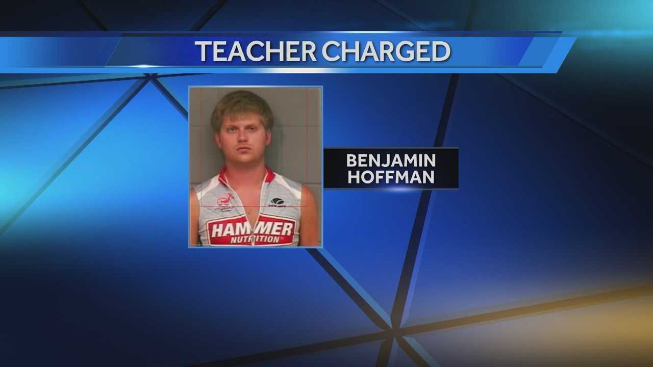 Urbandale Middle School teacher Benjamin Hoffman has been charged with multiple counts of sexual abuse.