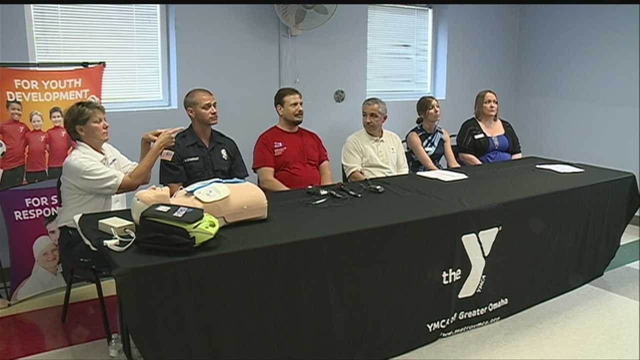 YMCA staff members in Omaha are credited for saving a local man's life.
