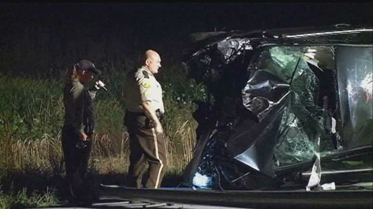 The Iowa State Patrol said two men involved in an armed robbery late Thursday led troopers on a high-speed chase that ended in a crash.