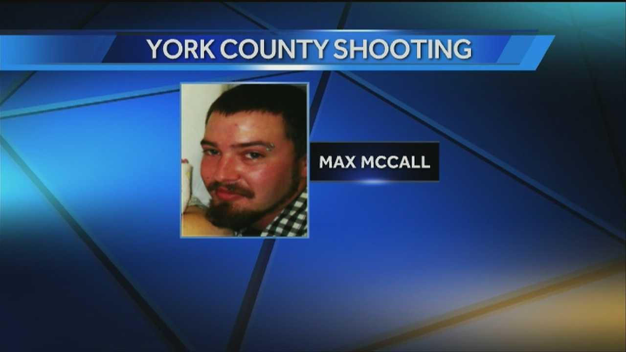 Authorities have released the name of a man wounded during an exchange of gunshots with a York County deputy.