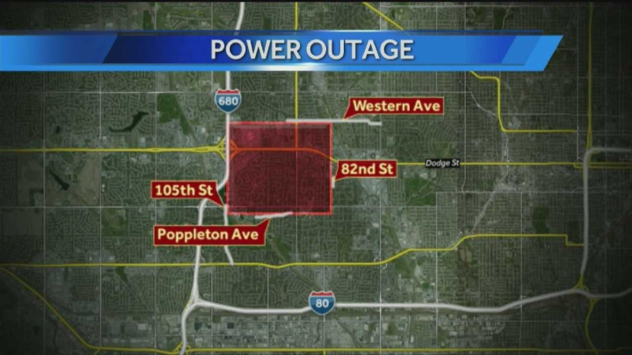 More than 5,000 customers were without power Wednesday morning.