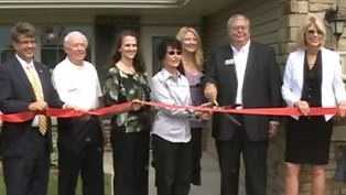 New homes for seniors open with fanfare