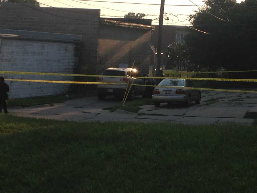 Police found Kruger's SUV in an alley near 43rd and Charles streets around 6 p.m. Neighbors said the vehicle had been there all day.