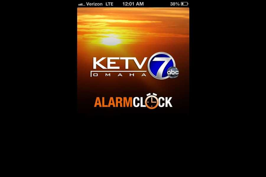 Wake up to KETV's Alarm Clock app and get a customized forecast, trending headlines and more. Available in iTunes and Google Play.
