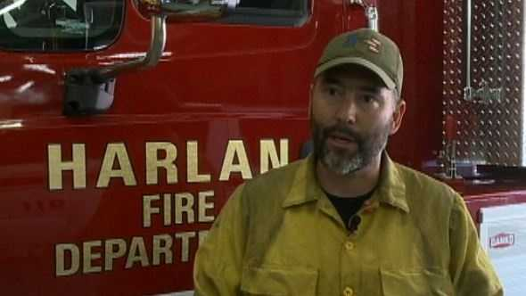 Harlan firefighters