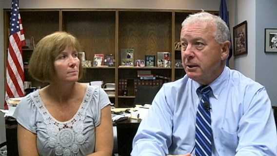 Deputy County Attorney Brenda Beadle, Douglas County Prosecutor Don Kleine