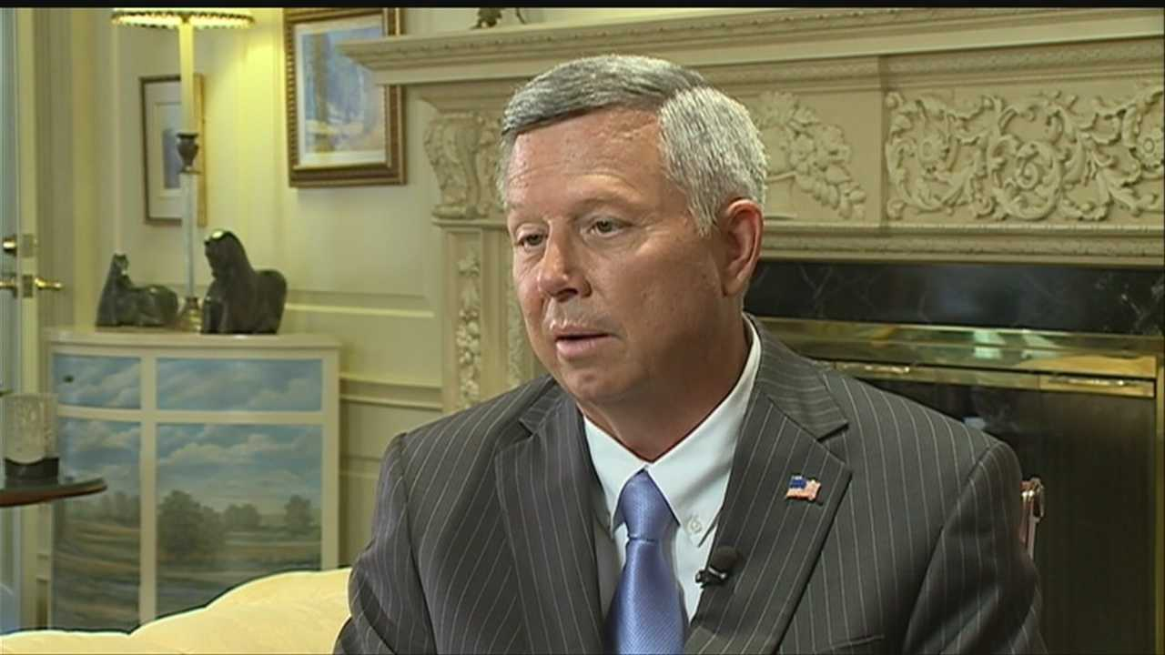 Nebraska Gov. Dave Heineman said the so-called Obamacare isn't ready, and he wants the clock to stop.