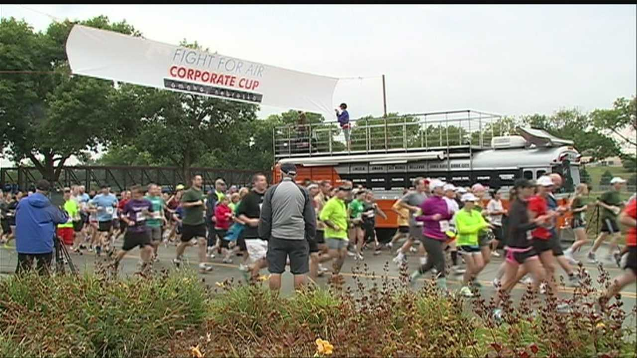 The Omaha Corporate Cup draws thousands of runners to a new course this year.