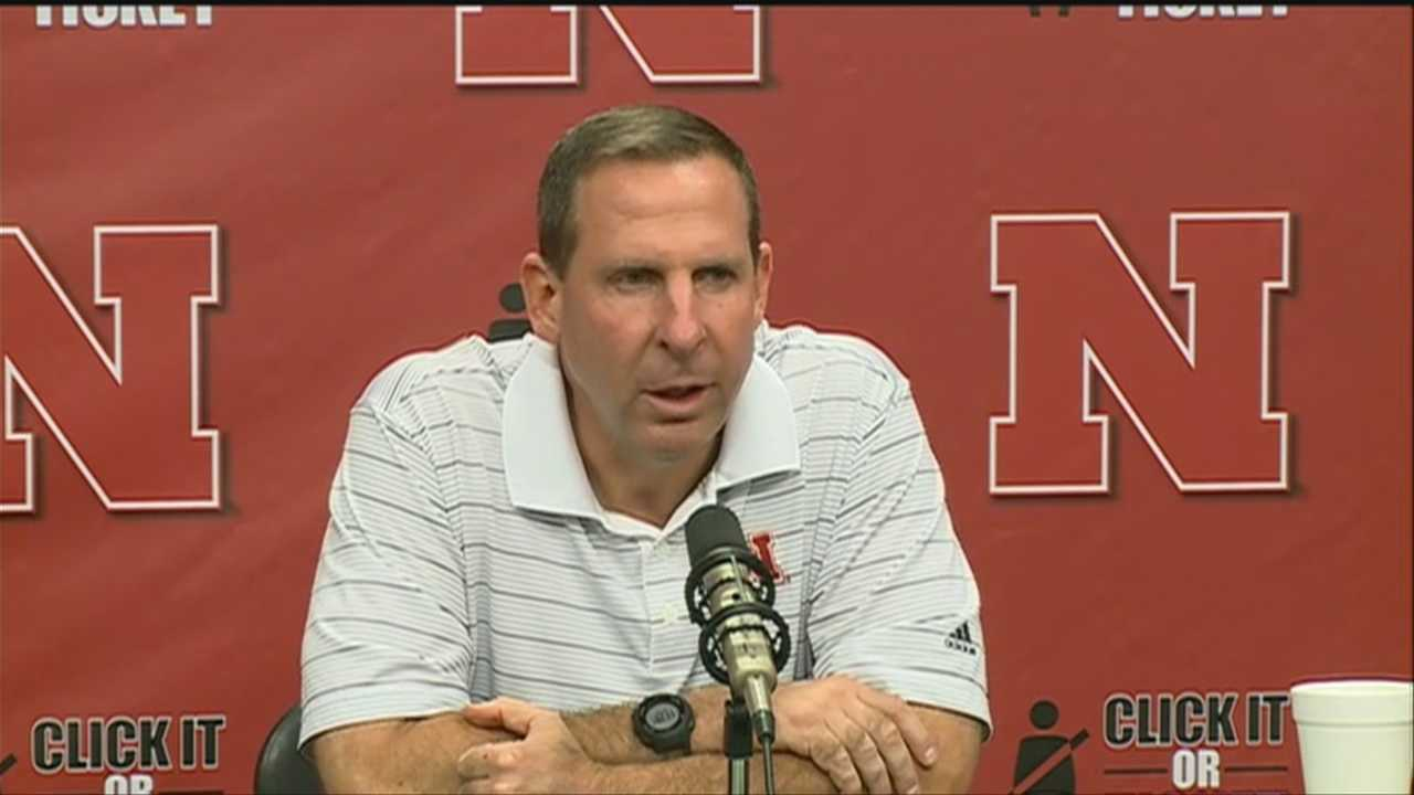 Nebraska head football coach Bo Pelini talked with reporters Monday about the team's loss to UCLA over the weekend.