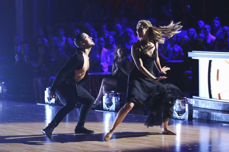 "ELIZABETH & VALENTIN -  ""Dancing with the Stars"" is back with an all-new cast and fresh show format for Season 17.  (Photo by: ABC/Adam Taylor)"