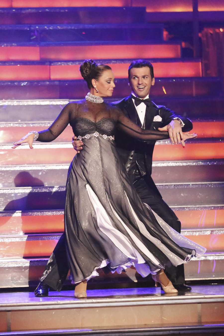 "LEAH & TONY - ""Dancing with the Stars"" is back with an all-new cast and fresh show format for Season 17.  (Photo by: ABC/Adam Taylor)"