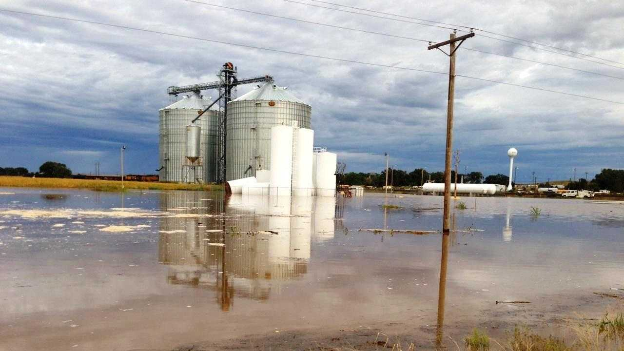 Flooding in Brule, Neb.