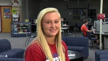Madison Unzicker, a Millard South student, has a 3.96 GPA and was voted 'All Around Student' by the Millard South staff. She participates in National Honor Society, softball, basketball and as a Peer Mediator in addition to volunteering in the community.