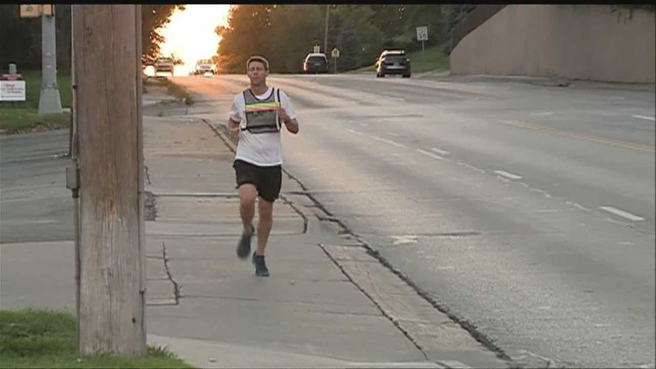 Mentors wrapped up their mission Sunday after running across Nebraska.