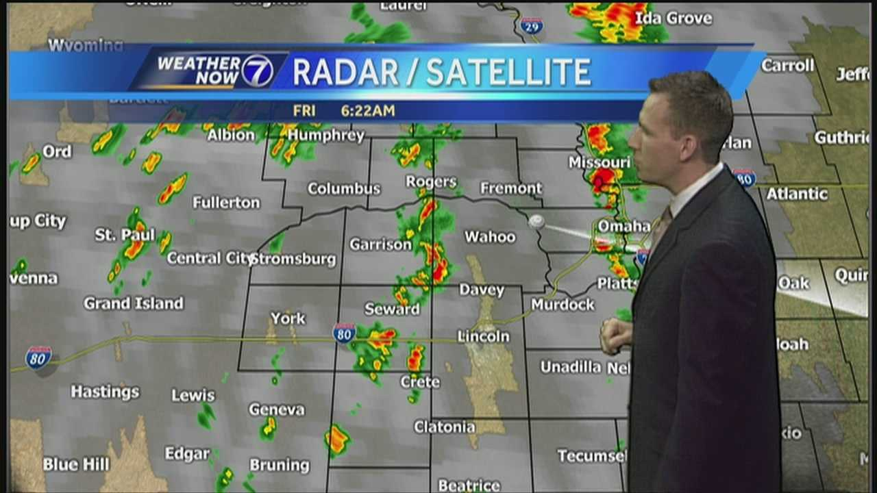 Spotty morning showers are followed by another warm and windy afternoon. Plus the conditions for the rest of your weekend, all in Meteorologist Matt Serwe's Weather Now forecast.