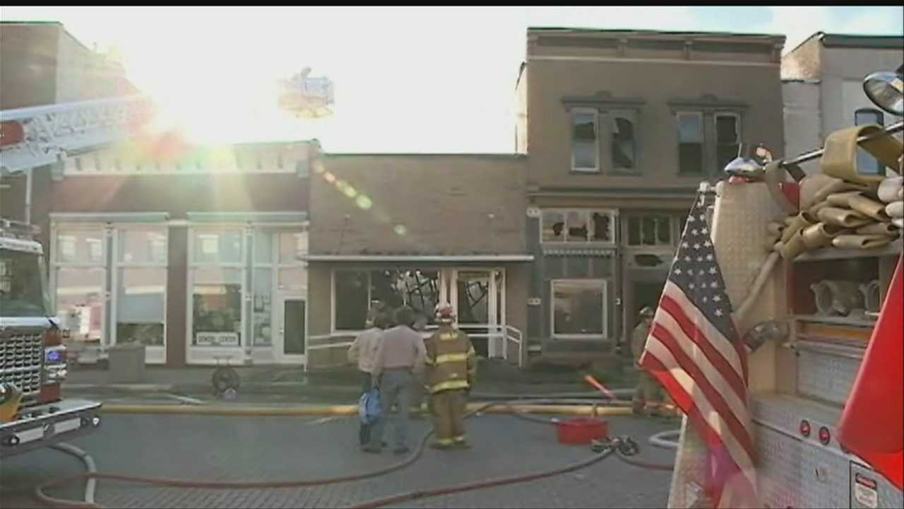 Several small town Iowa businesses are getting help from the community after a fire tore through buildings in downtown Woodbine last week.