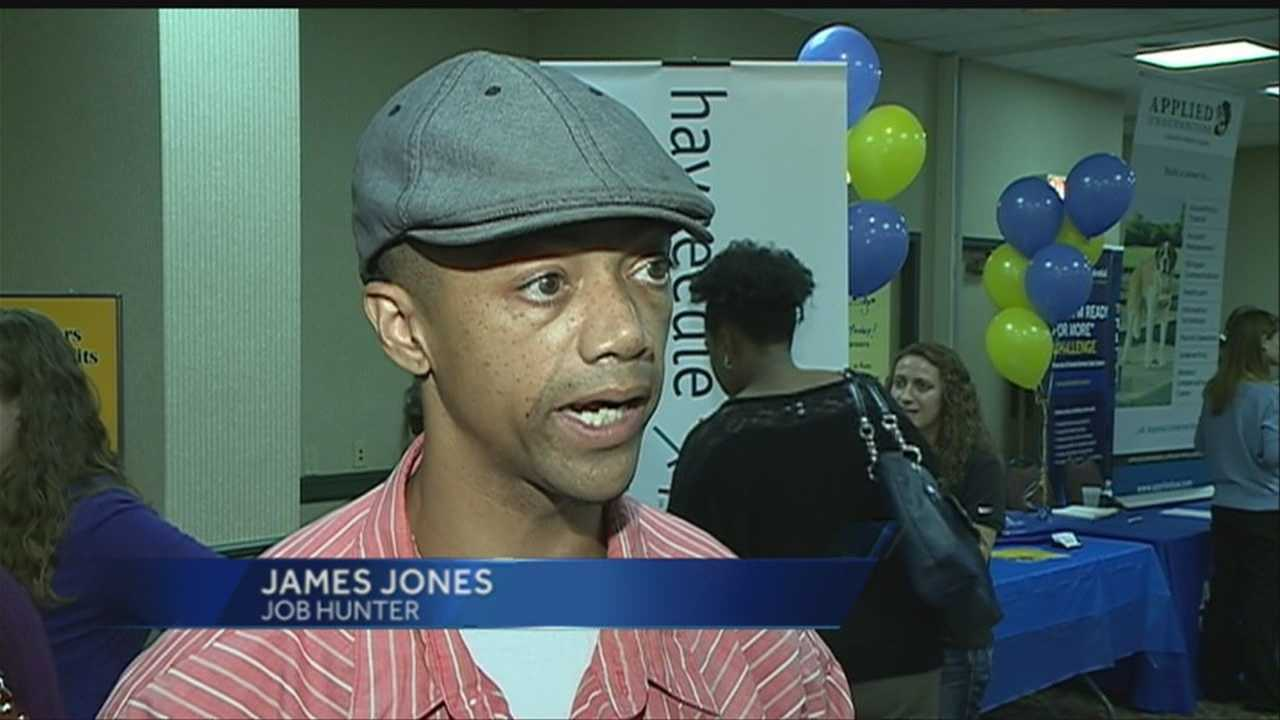 As many as 850 job seekers attended Wednesday's job fair, but a local economist says more people should be looking for work, but they aren't.