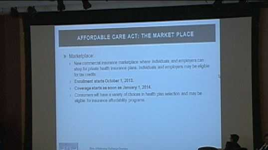 Health care powerpoint slide