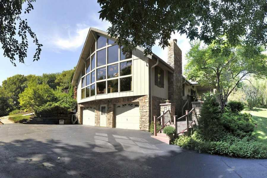 This spectacular home in the Ponca Hills area sits on two acres and features three bedrooms, six bathrooms and is listed at $1.3 million. See the full listing onCBSHome.com.