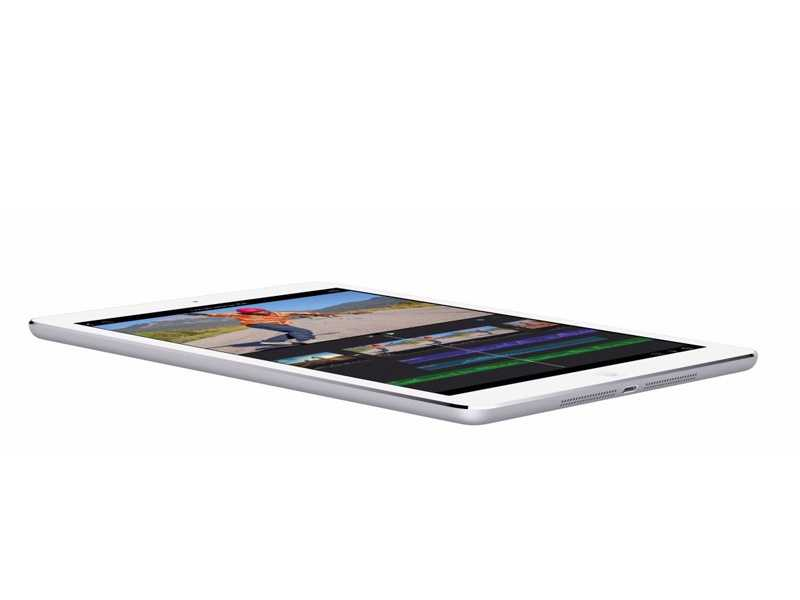 Apple says it was able to drop nearly a quarter of the volume of the previous-generation iPad in designing iPad Air.