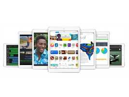iPad Air uses two antennas instead of one to double the Wi-Fi performance of its predecessor, Apple says.