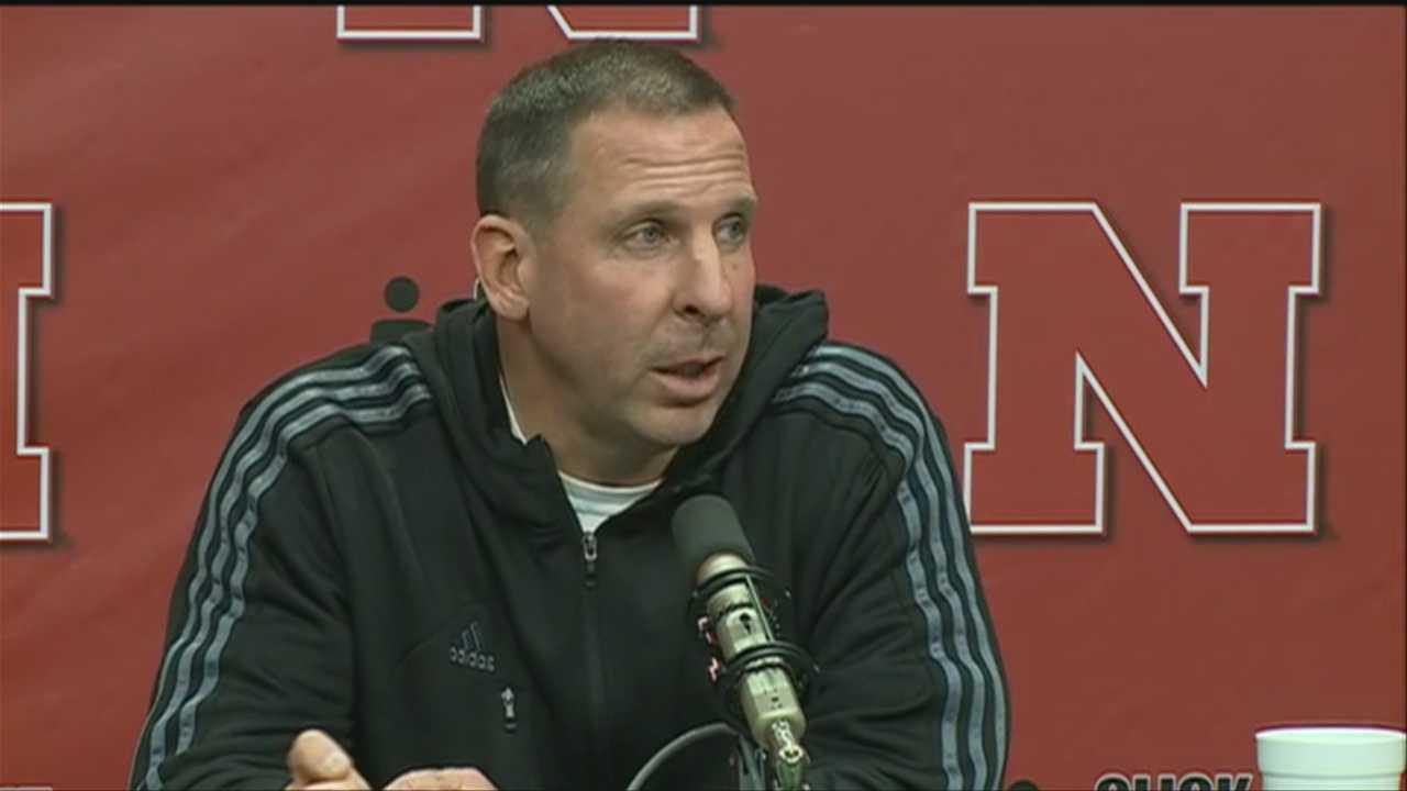 Nebraska head football coach Bo Pelini said the team didn't play with an edge on Saturday.