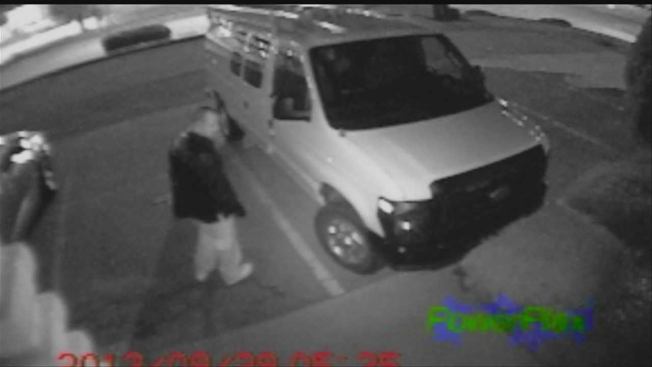 Man steals catalytic converter and tools from van parked near 108th and J streets.