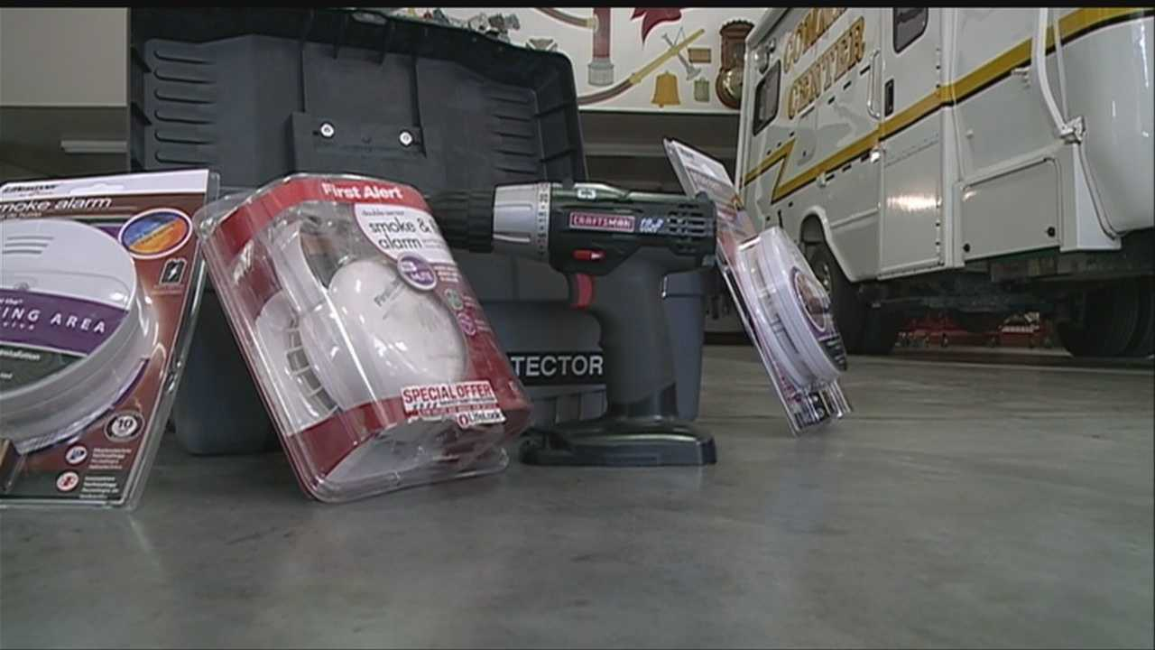Council Bluffs firefighters are offering free smoke detectors and batteries as well as free installation to city residents