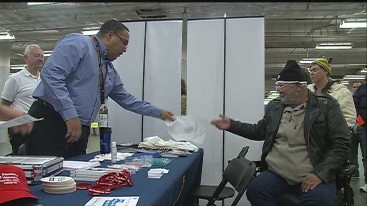 Volunteers gave back to over a hundred veterans this weekend at an annual event geared toward providing health services and other resources.