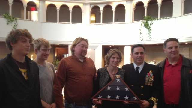 LaFave Navy Seal honor