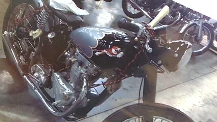 Stolen motorcycle