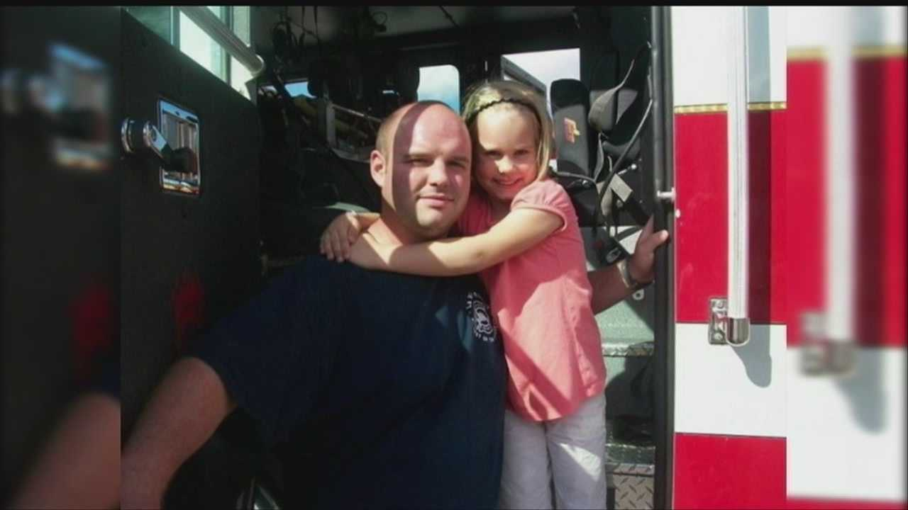 Bellevue firefighters hold a breakfast fundraiser for one of their own on Sunday