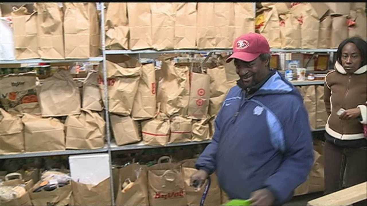 Food bank hands out 125 Turkeys to families in need