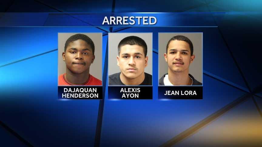Teen arrest