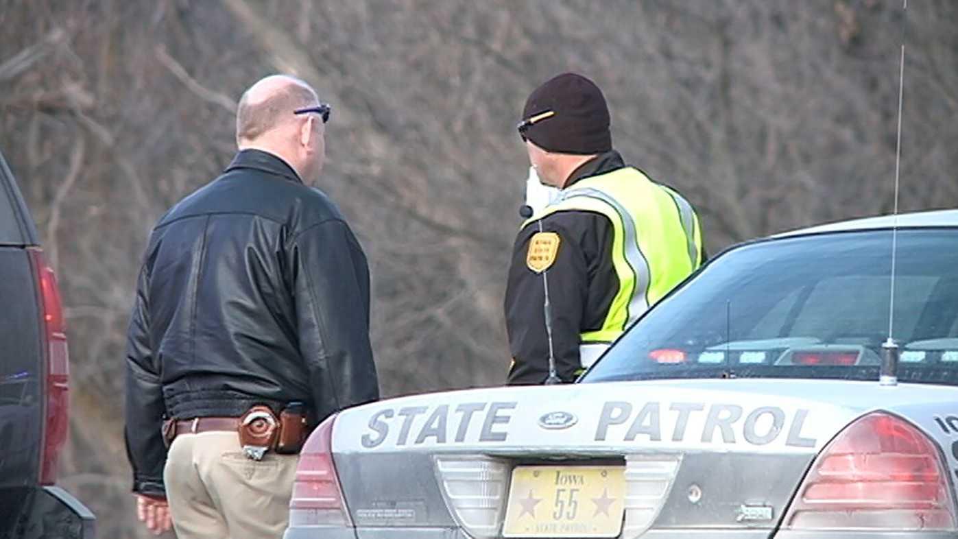 Iowa state patrol - trooper shooting - council bluffs