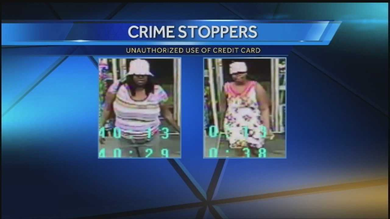 Omaha police are looking for the two women who stole credit cards from a woman's purse at M's Pub in the Old Market and then used them at Walgreens.