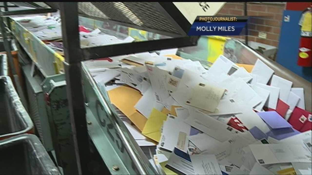 The Postal Service offered some advice to make sure letters and packages reach their destinations in time for Christmas.