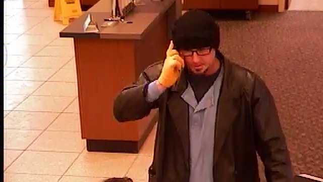 CB bank robbery