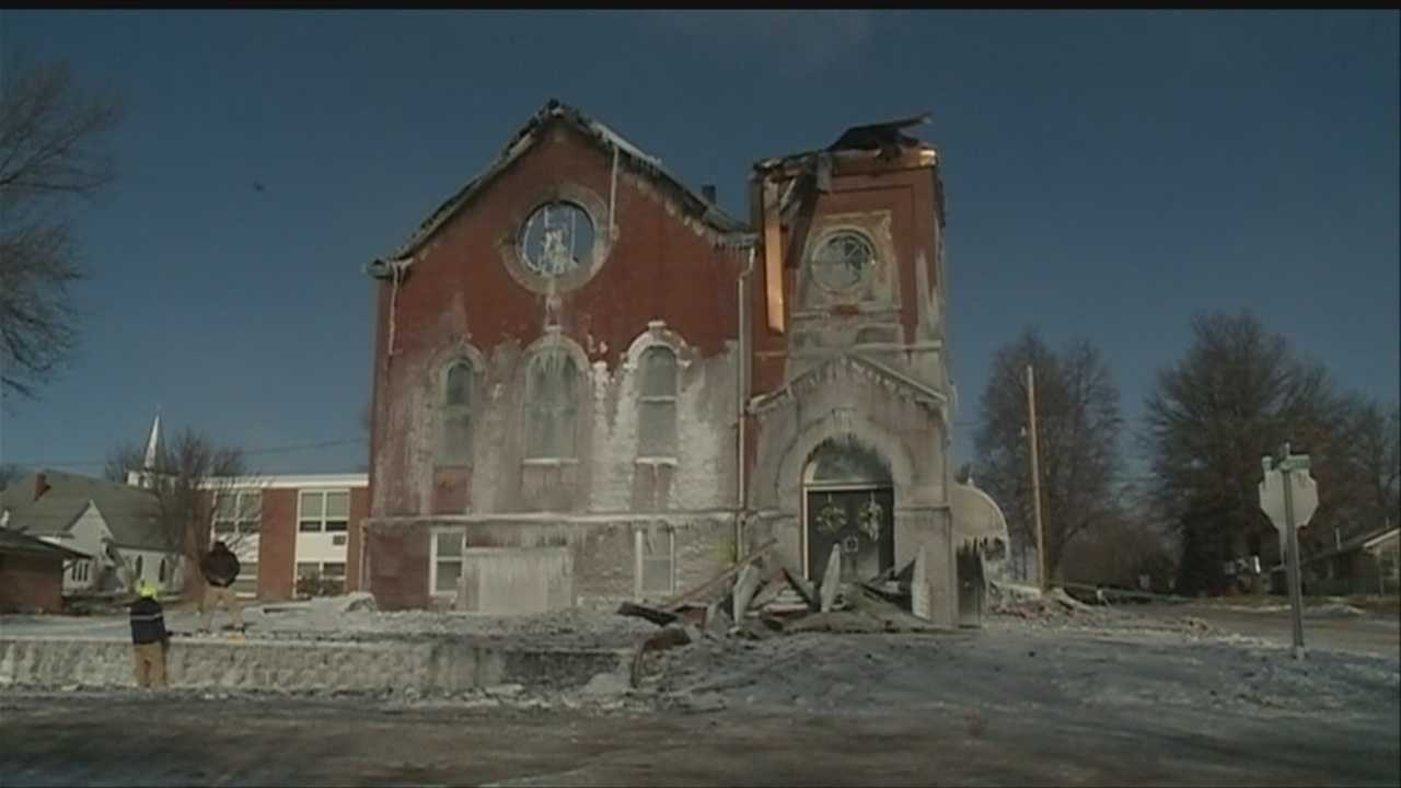 img-Historic church destroyed in fire