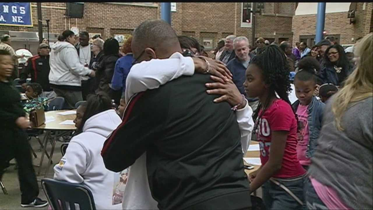 The Omaha community is banding together to pledge their support for those affected by gang violence