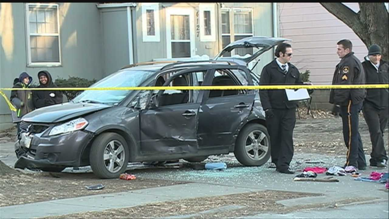 Police think a pregnant woman and her unborn child will be OK after getting hit by a car Tuesday afternoon.