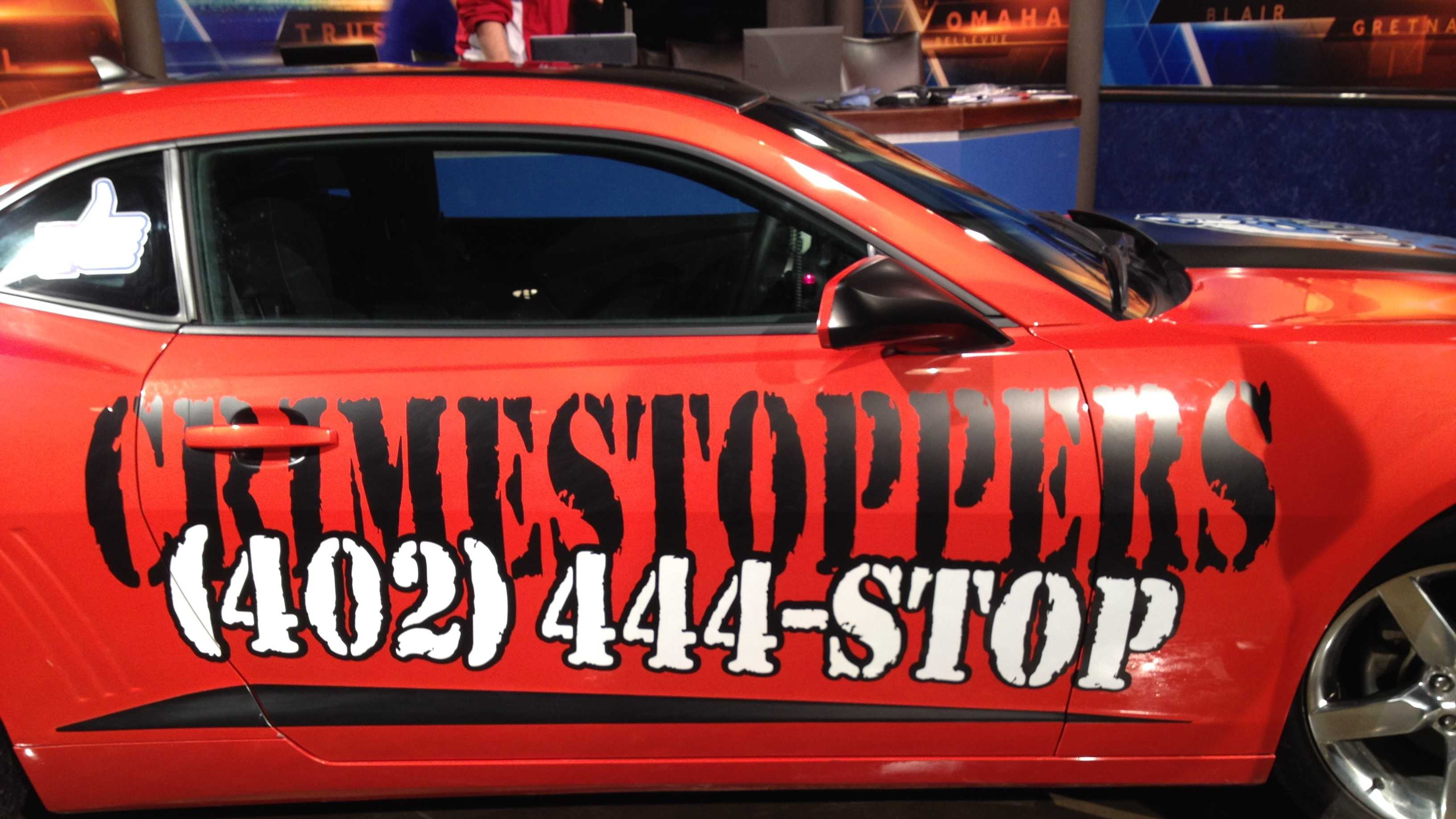 Crime Stoppers car