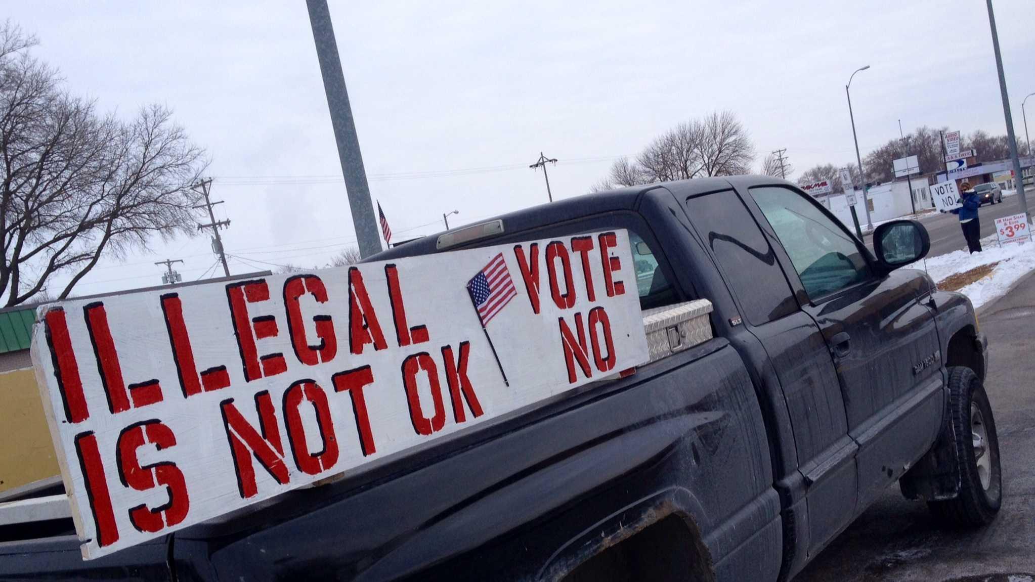 Fremont voting sign
