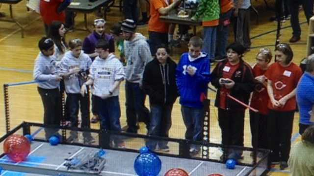 Nebraska students compete in State Robotics Championship