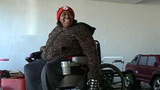 Wheelchair folo