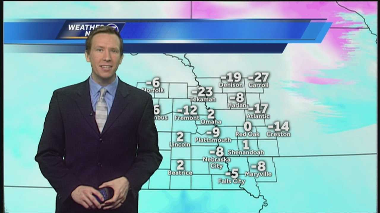 "Frigid wind chills are back this morning, though we will see our ""warmest"" temperatures of the week later today. Meteorologist Matt Serwe has your latest cold and snowy Weather Now forecast."