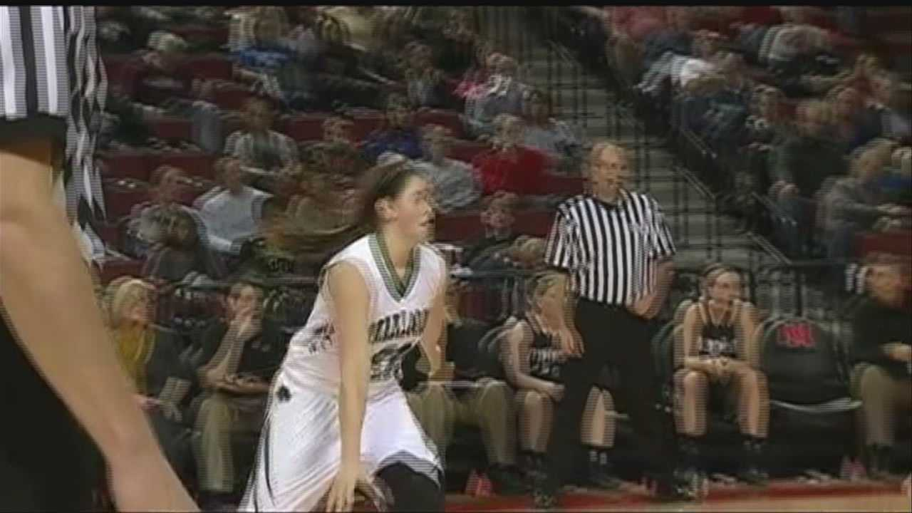 Watch highlights from Thursday's high school state tournament in Lincoln.