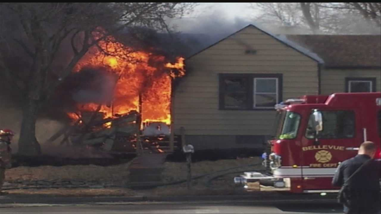 A mother and her baby were fast asleep when their home near 28th and Harrison streets caught fire around 10:20 a.m.
