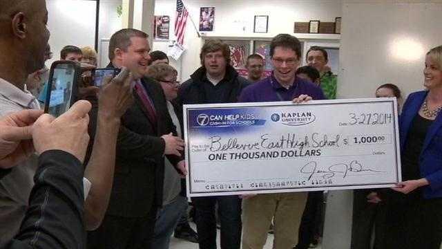 Cash in for schools
